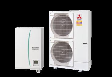 Die neueste Generation Ecodan Luft Wasser Wärmepumpen