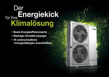 Energiekick für Ihre Klima- und Heizlösung