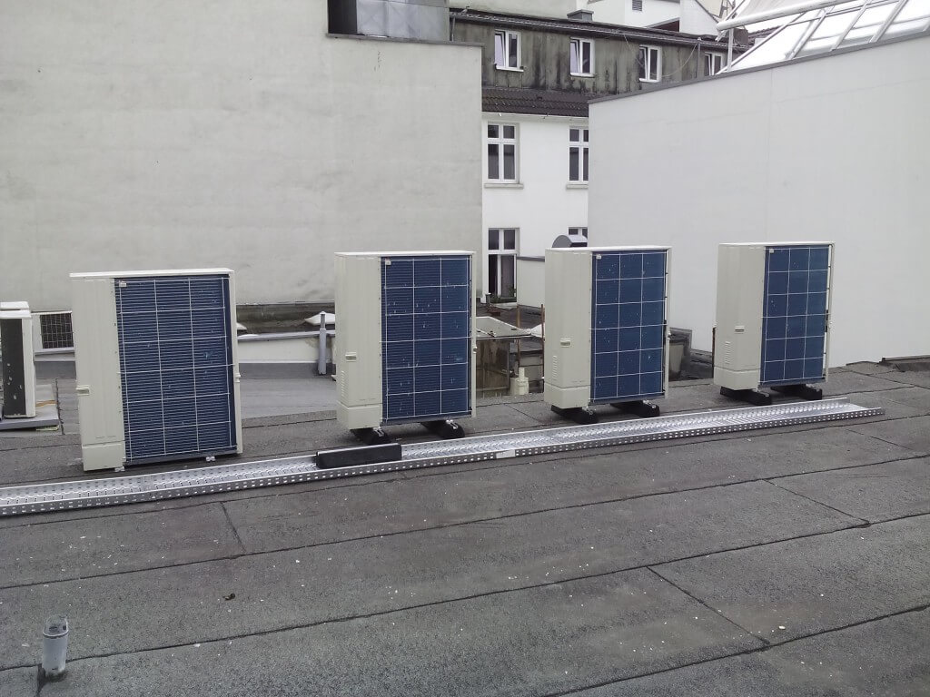 Klimaanlage bonntech hille for Klimaanlage dachmontage